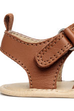 Leather sandals - Camel - Kids | H&M CN 4